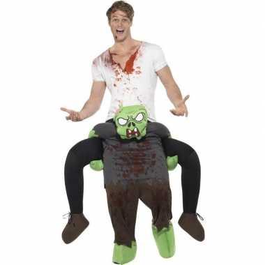 Instapverkleedkleren zombie voor volwassenen