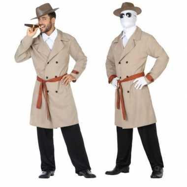Invisible man/detective verkleed pak/verkleedkleren voor heren