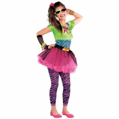 Jaren 80 disco verkleedkleren feestverkleedkleren voor meisjes 10 12