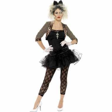 Jaren 80 verkleedkleren met petticoat