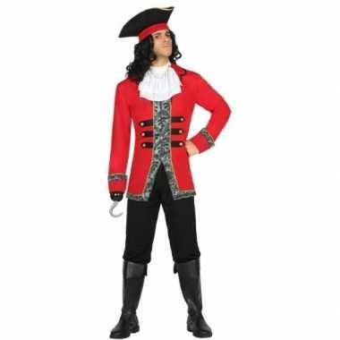 Kapitein piraat james verkleed pak/verkleedkleren voor heren