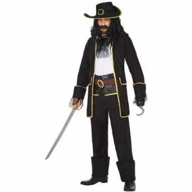 Kapitein piraat thomas verkleed pak/verkleedkleren voor heren