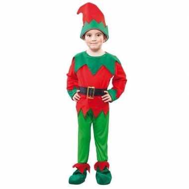 Kerst elf verkleedkleren voor een kind