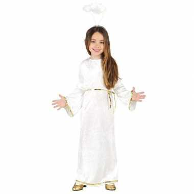 Kerst engel sariel verkleedkleren/jurk voor meisjes