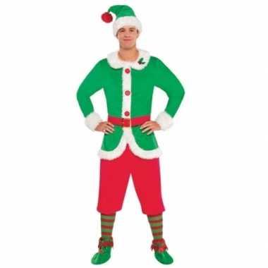 Kerstelf verkleedkleren voor heren
