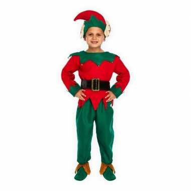 Kerstelf verkleedkleren voor kinderen