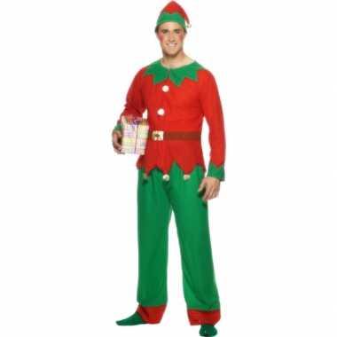 Kerstelf verkleedkleren voor mannen