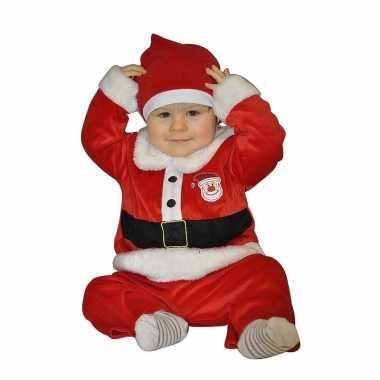 Kerstman verkleedkleren voor babies 1 2 jaar