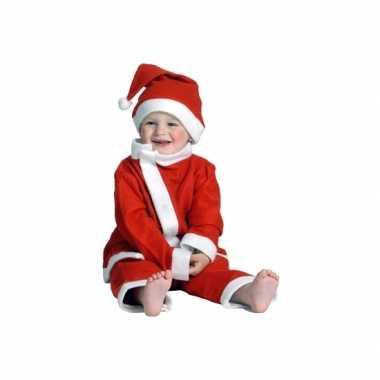 Kerstman verkleedkleren voor een peuter