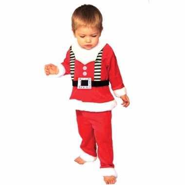 Kerstmannen verkleedkleren voor peuters