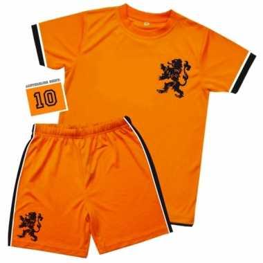 Kids oranje voetbal verkleedkleren
