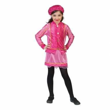 Kinder verkleedkleren roetveegpiet roze