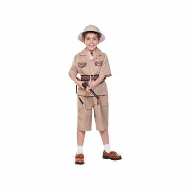 Kinder verkleedkleren safari