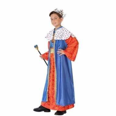 Kinder verkleedkleren wijzen uit het oosten blauw