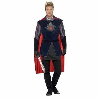 Koning arthur ridder verkleedkleren voor heren