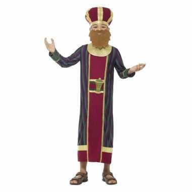 Koning balthazar verkleedkleren voor jongens 3 koningen kerst verklee