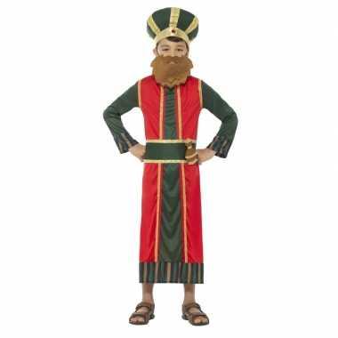 Koning caspar verkleedkleren voor jongens 3 koningen kerst verkleedkl