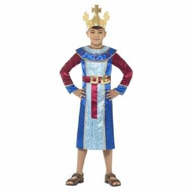 Koning melchior verkleedkleren voor jongens 3 koningen kerst verkleed