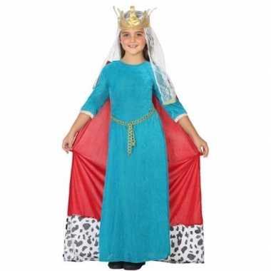 Koninginnen verkleedkleren voor kinderen