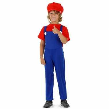 Loodgieter verkleedkleren rood voor jongens