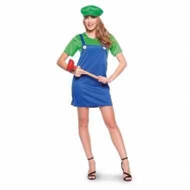 Luigi dames verkleedkleren