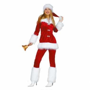 Luxe dames verkleedkleren voor de kerst