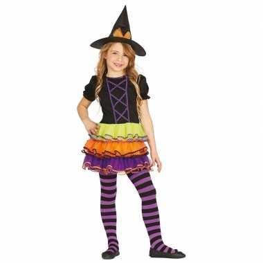 Luxe heksen verkleedkleren brujita voor kinderen