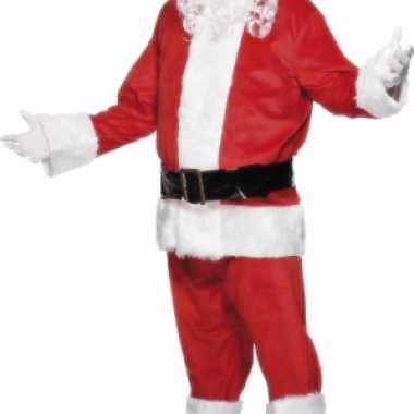 Luxe kerst verkleedkleren voor heren