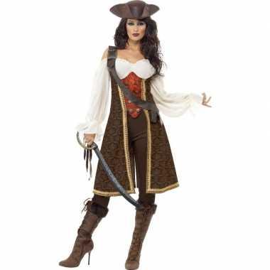 Luxe piraten verkleedkleren voor dames