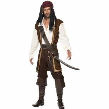 Luxe piraten verkleedkleren voor heren