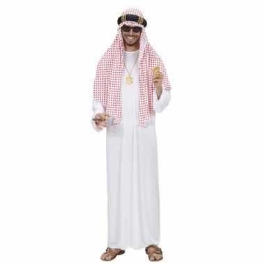 Luxe sjeik verkleedkleren voor heren