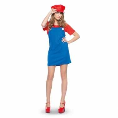 Mario dames verkleedkleren