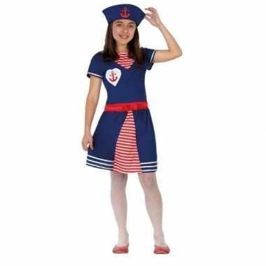 Matrozen verkleed jurkje/verkleedkleren voor meisjes