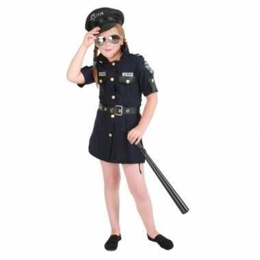 Meisjes politie jurk verkleedkleren
