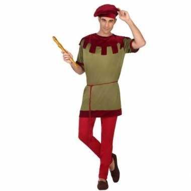 Middeleeuws page verkleedkleren voor heren