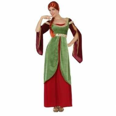 Middeleeuwse jonkvrouw/prinses verkleedkleren voor dames