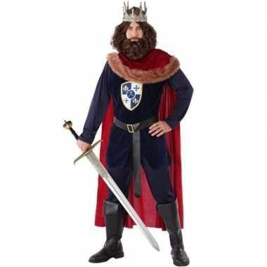 Middeleeuwse koning verkleedkleren voor heren