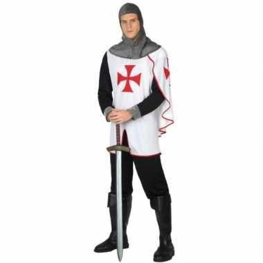 Middeleeuwse kruistocht ridder verkleedkleren voor heren