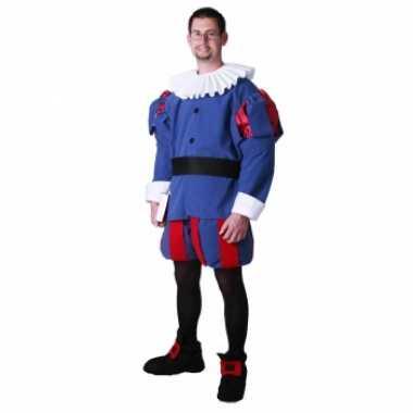 Middeleeuwse prins verkleedkleren voor heren