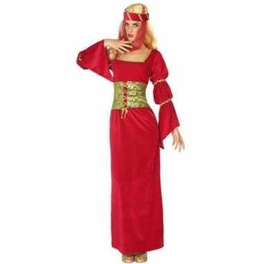 Middeleeuwse prinses/jonkvrouw verkleedkleren voor dames