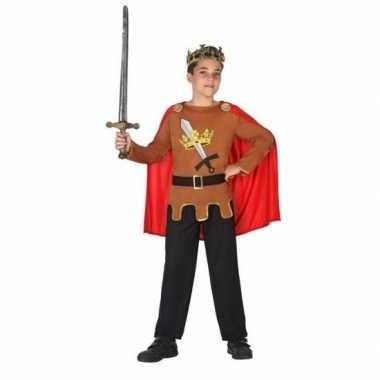 Middeleeuwse ridder/koning arthur verkleedkleren jongens