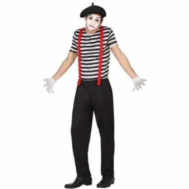 Mime clowns heren verkleedkleren