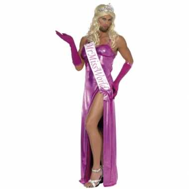 Miss world verkleedkleren heren