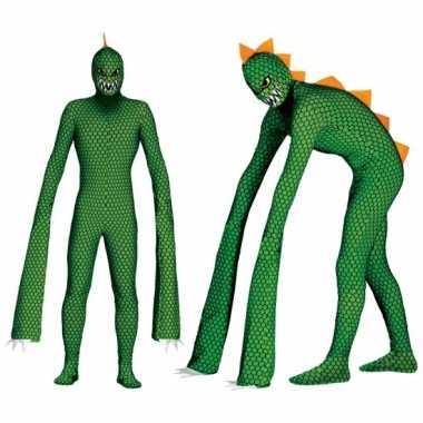 Monster reptielen verkleedkleren met lange armen voor heren