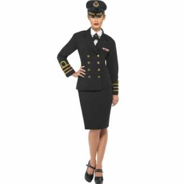 Navy officiers verkleedkleren voor dames