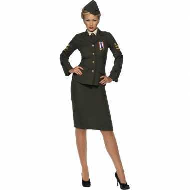 Oorlog officier verkleedkleren voor dames