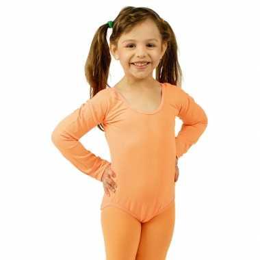 Oranje kinder ballet verkleedkleren