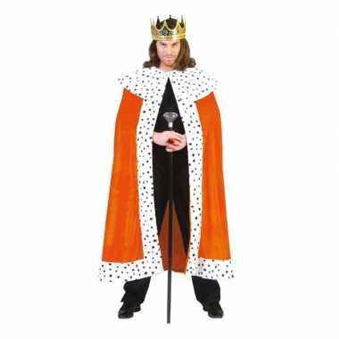 Oranje koningsverkleedkleren volwassenen