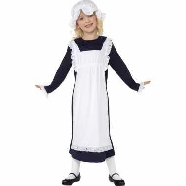 Ouderwets weesmeisje verkleedkleren