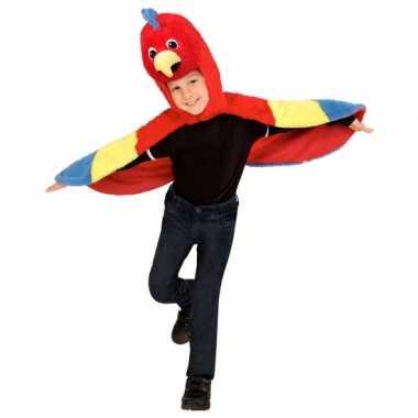 Papegaai verkleedkleren voor peuters